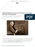 Wilder Penfield Redrew the Map of the Brain — by Opening the Heads of Living Patients - Vox