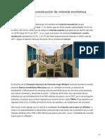 30/01/2018 Buscan impulsar construcción de vivienda económica