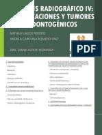 Calcificaciones y Tumores Odontogénicos