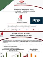 Incremento en Los Precios de Los Insumos y Su Incidencia en Los Costos de Construcción_08!08!16