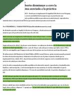 Ya Uruguay_ Ley de Aborto Disminuye a Cero La Mortalidad Femenina Asociada a La Práctica _ Radar _ Versión Solo Texto _ Otramérica