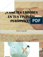 Nestor Chayele - ¿Cometes Errores en Tus Finanzas Personales?