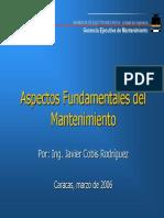 Presentación Aspectos Fundamentales Del Mantenimiento 07.03.06