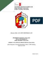 Program Kerja Ekstrakurikuler Bu Ana 2017-2018 - Iso