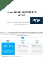 Temas Gym Virtual
