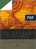 Dicionário de Estudos Bíblico