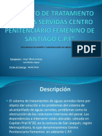 Proyecto de Tratamiento de Aguas Servidas Centro