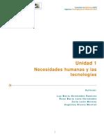 U1 Necesidades Humanas y Las Tecnologías