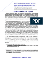 Volunteerism and social capital