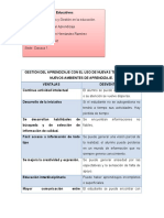 Practica 2. Gestion Del Aprendizaje VENTAJAS Y DESVENTAJAS DEL AULA VIRTUAL