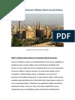 4.5 the Mamluk Sultanate Military Slaves Turned Sultans PDF