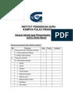 3.2.1 Senarai Prasarana & Aktiviti Sekolah