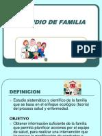 Capacitación Estudio Familia