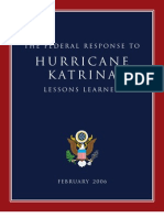 Katrina Lessons Learned