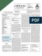 Boletin Oficial 06-09-10 - Segunda Seccion