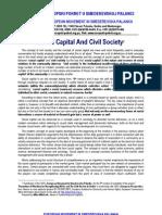 Social Capital And Civil Society