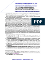 Non-Governmental Organisations And Local Community Development