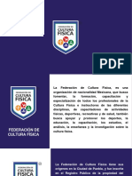 Federacion de Cultura Fisica