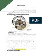 Barómetro aneroide