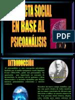Conducta Social en Base Al Psicoanalisis