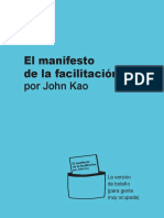MANIFESTO Facilitacion 2015