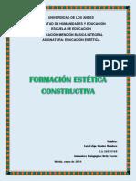 Trabajo Singular Formacion Estetica Constructiva