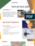 Sismo de Pisco 2007- Grupo1