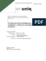Evaluación de las Inteligencias Multiples en el aula primaria