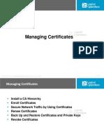 6. Managing Certificates (25)