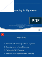 SME Finaning in Myanmar
