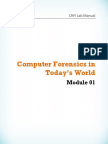 CHFI v8 Module 01 Computer Forensics in Today's World