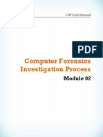 CHFI v8 Module 02 Computer Forensics Investigation Process