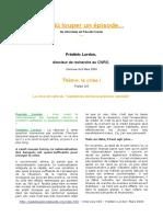 Frederic Lordon - La Crise Du Capitalisme de Basse Pression Salariale