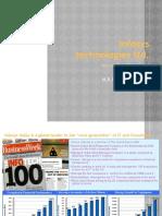 Infosys Technologies Ltd Final Edition