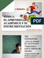 Tema 1 El Aprendizaje Academico