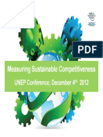 Measuring Sustainable Competitiveness
