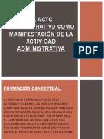 El Acto Administrativo Como Manifestación de La Actividad Editado (1)