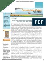 Patrimônio_ Lazer & Turismo - Revista Eletrônica - UNISANTOS