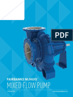 Fairbanks Nijhuis Mixed Flow Irrigation Pump Brochure