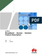 Huawei ELTE2.3 Broadband Access Solution Feature Description (1)