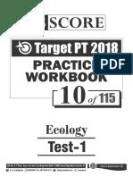 Test - 10 Ecology Test-1