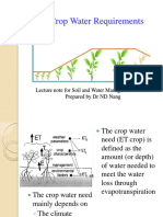 2 Crop Water Requirements