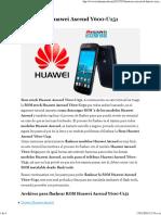 Rom Stock Huawei Ascend Y600-U151