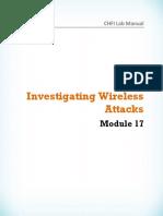 CHFI v8 Module 17 Investigating Wireless Attacks.pdf