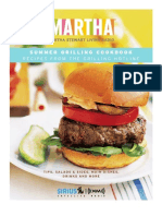 Martha Grilling Cookbook Appetizers