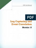 CHFI v8 Module 15 Log Capturing and Event Correlation.pdf