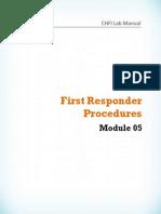 CHFI v8 Module 05 First Responder Procedures.pdf