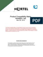 NN43001-140 01.08 Fundamentals Comp Matrix