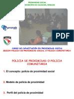 Policia de Proximidad Social
