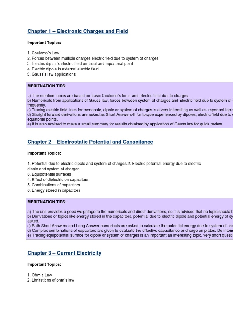 physics imp topics docx | Optics | P–N Junction